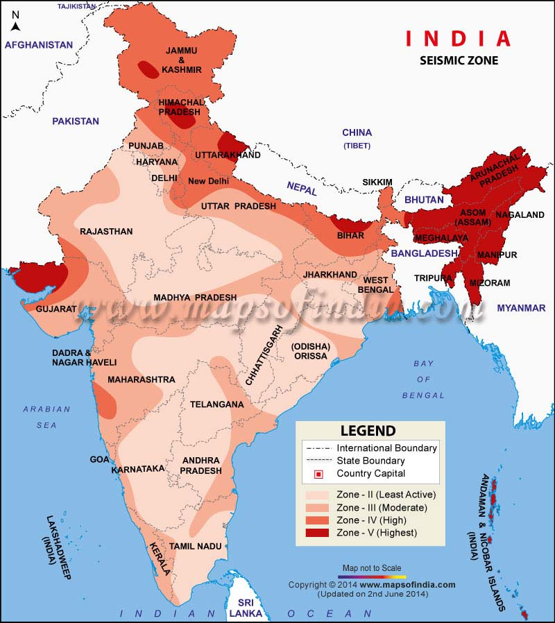Natural Disaster History In India